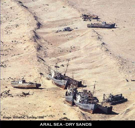 Dried Up Seas